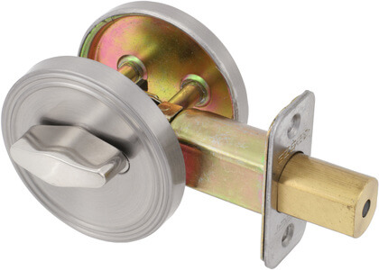 One Sided Full Bore Deadbolt